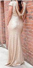 Load image into Gallery viewer, Modern Style Glitter Sequins Dress
