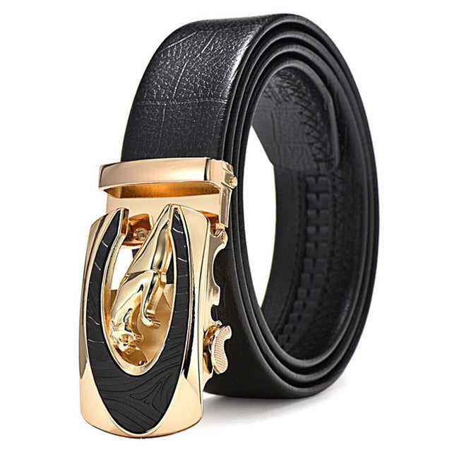 Cowskin High Quality Male Belt
