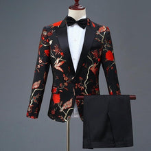 Load image into Gallery viewer, Floral Pattern Suit