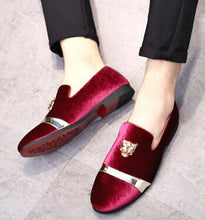 Load image into Gallery viewer, Handmade Loafers Men's Shoes