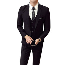 Load image into Gallery viewer, Polyester Men Wedding Suit