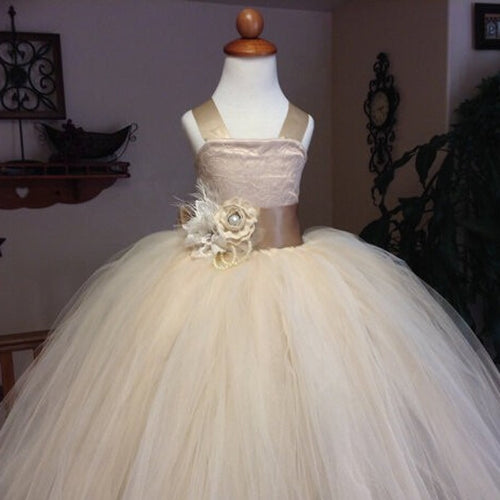 Vintage Lace Flower Girl Dress