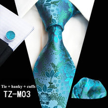 Load image into Gallery viewer, Plain Floral  Men's Tie