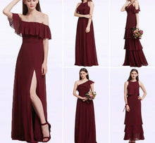 Load image into Gallery viewer, Long Elegant Bridesmaid Dress