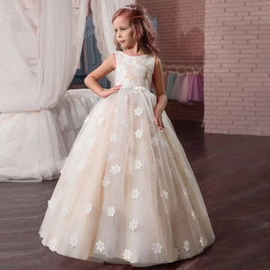 Flower Girl's Sleeveless Dress