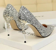 Load image into Gallery viewer, Shallow Bling Bridal Shoes