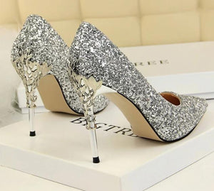 Shallow Bling Bridal Shoes
