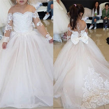 Load image into Gallery viewer, Vintage Flower Girl Dress