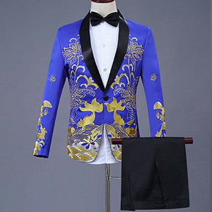 Ceremonial Embroidered Suit