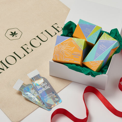CBD Christmas Gifts | Get the Glow | Molecule