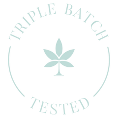 Molecule Triple Batch Tested Stamp