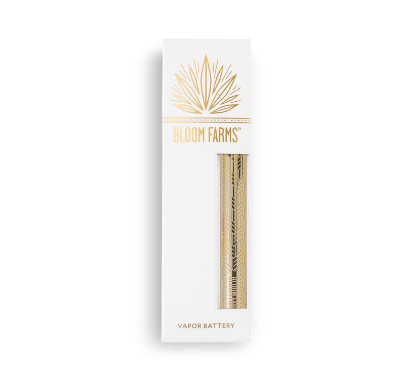 Gold Herringbone - CBD Highlighter™ Vapor Battery