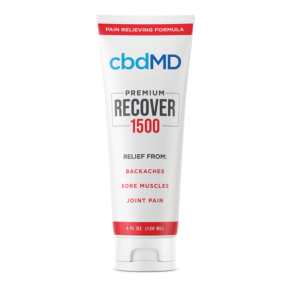 CBD Recover squeeze 1500 mg - 4oz