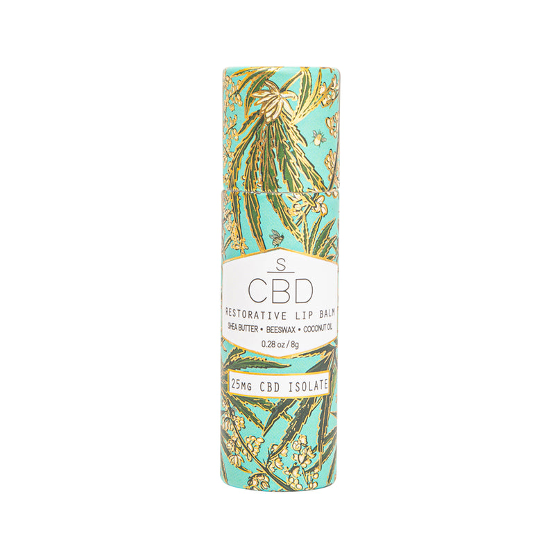 CBD Infused Restorative Lip Balm (25mg)
