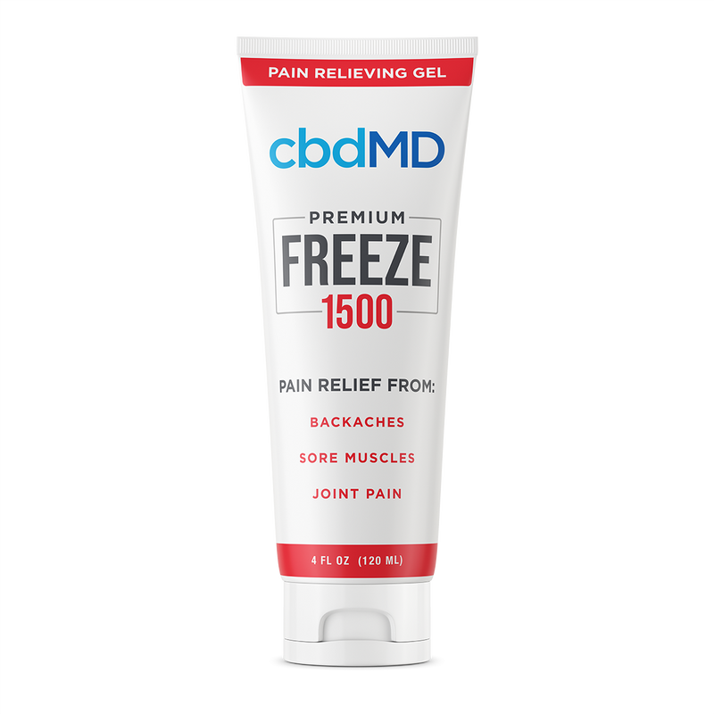 Freeze Pain Relief Squeeze 1500mg (4oz)
