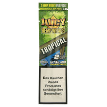 Load image into Gallery viewer, Juicy Jay's - Tropical Hemp Wraps - Zootalicious