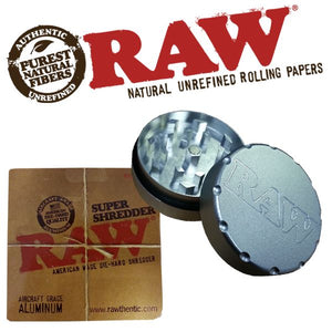 RAW Super Shredder 2 Part 50mm Aluminium Grinder - Zootalicious