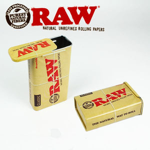 RAW Sliding Top Cigarette Case Tin - Zootalicious
