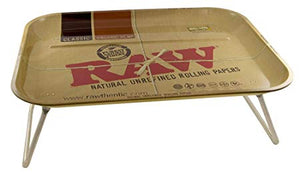 RAW XXL Lap Rolling Tray with Legs - Zootalicious