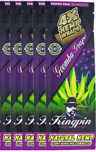 Load image into Gallery viewer, Kingpin - Purple Hemp Wraps - Zootalicious