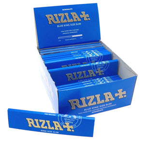 Rizla Blue King Size Slim Rolling Papers - Zootalicious