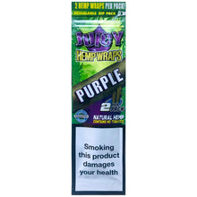 Load image into Gallery viewer, Juicy Jay's - Purple Hemp Wraps - Zootalicious