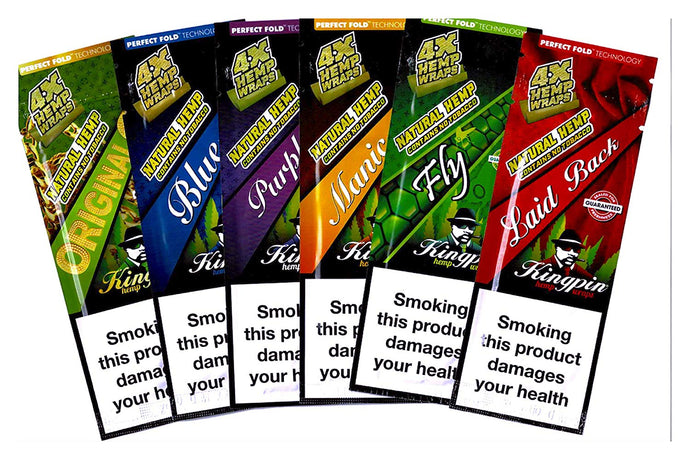 Kingpin - Hemp Wrap - 6 Pack - Zootalicious