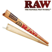 Load image into Gallery viewer, RAW Classic Supernatural 12 Inch Pre-Rolled Cones - Zootalicious
