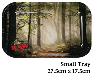 RAW Forest Metal Rolling Tray - Zootalicious