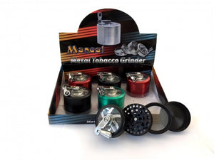 4-Part Metal Handled Grinder - Zootalicious