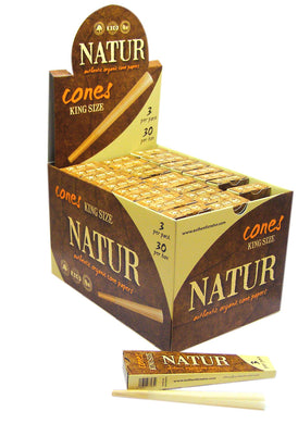 Natur Organic King Size 3 Pack Cones - Zootalicious