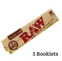 Load image into Gallery viewer, RAW Organic Hemp King Size Slim Rolling Papers - Zootalicious
