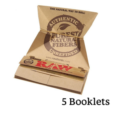 RAW Classic Artesano King Size Slim Rolling Papers Tips & Tray - Zootalicious