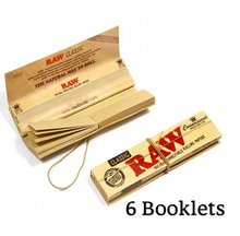 Load image into Gallery viewer, RAW Classic Connoisseur King Size Slim Rolling Papers & Tips - Zootalicious