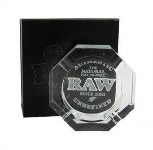 RAW Crystal Glass Ashtray - Zootalicious