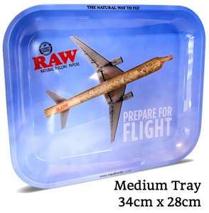 RAW Prepare For Flight Metal Rolling Tray - Zootalicious