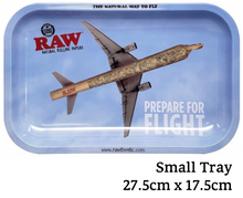 Load image into Gallery viewer, RAW Prepare For Flight Metal Rolling Tray - Zootalicious