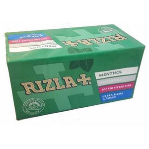 Rizla Menthol Ultra Slim Filter Tips - Zootalicious
