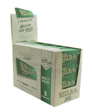 Rizla Green Regular Rolling Papers Multipack - Zootalicious