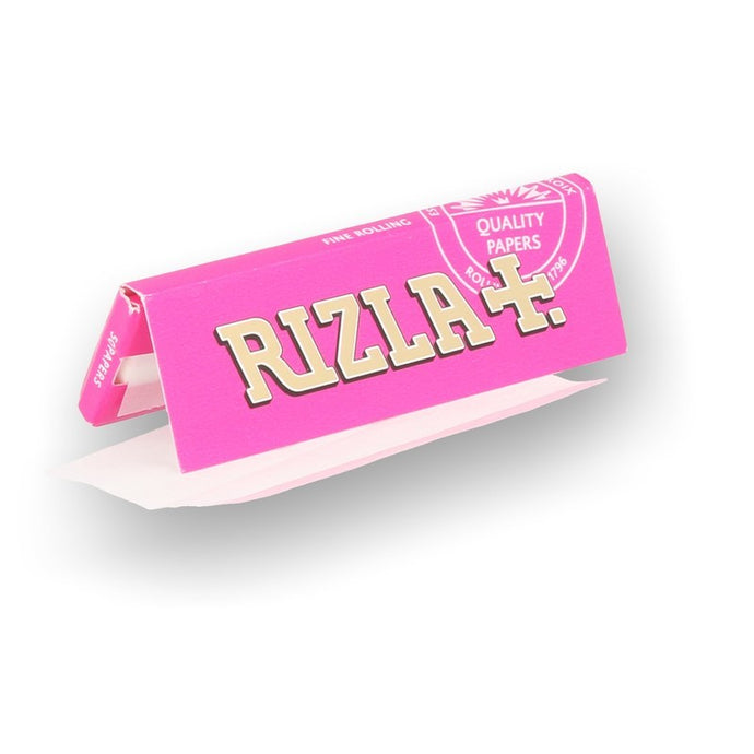 Rizla Pink Regular Rolling Papers - Zootalicious