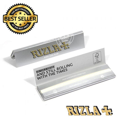 Rizla Silver King Size Slim Rolling Papers - Zootalicious