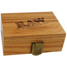 Load image into Gallery viewer, RAW Small Wooden Rolling Storage Box - Zootalicious