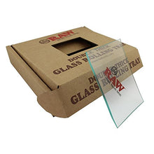 Load image into Gallery viewer, RAW Mini Clear Glass Rolling Tray - Zootalicious