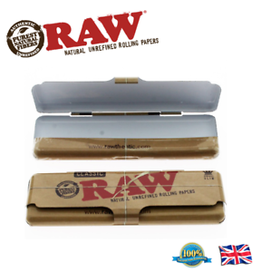 RAW Classic King Size Slim Papers Holder Case Tin - Zootalicious