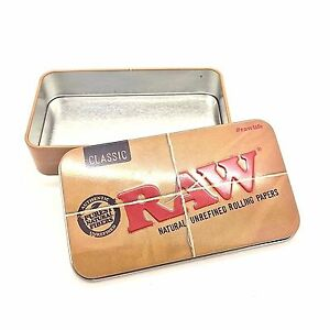 RAW Rolling Papers Printed Tobacco Tin - Zootalicious