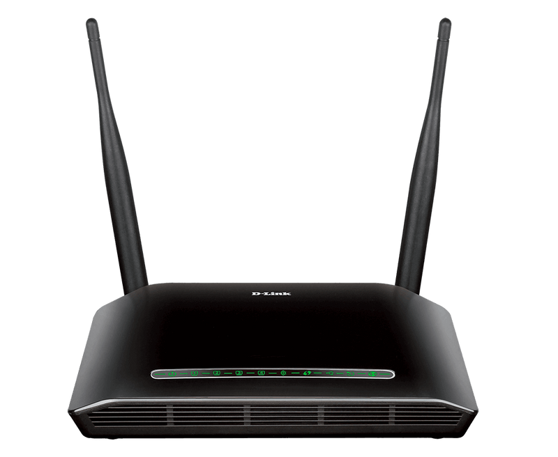 D-Link DSL-2750U Wireless N300 Dual Antena with USB port Router
