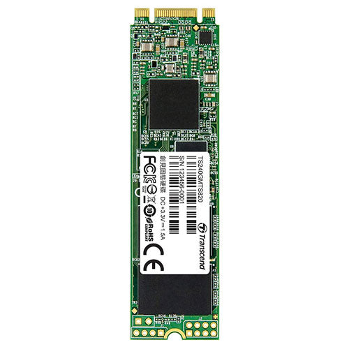 Transcend SATA III - MTS 820 M.2 - 240 GB - 6 gbps - 80 MM Internal SSD