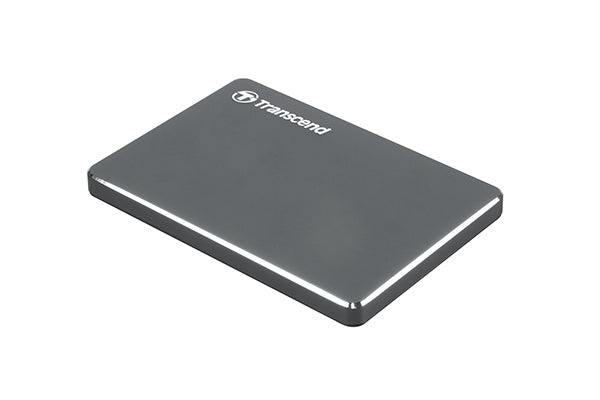 Transcend Metal Body Extra Slim Pocket Series 1 TB HDD 2.5 Inch Ultra Portable Hard Drive (C3N)