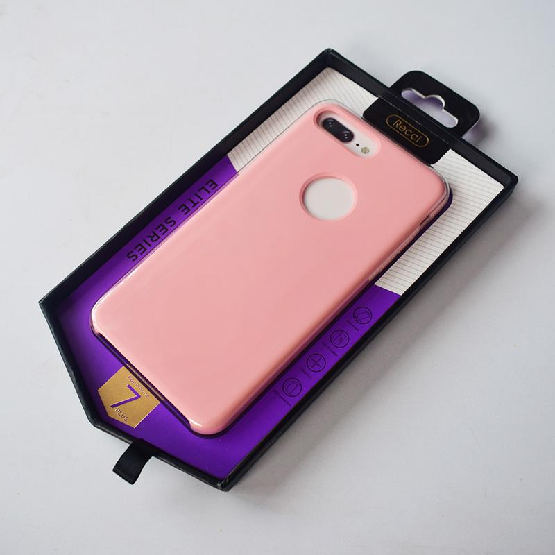 Recci Design Elite Series Genuine Soft Silicone With Fur Phone Case/Cover For Iphone