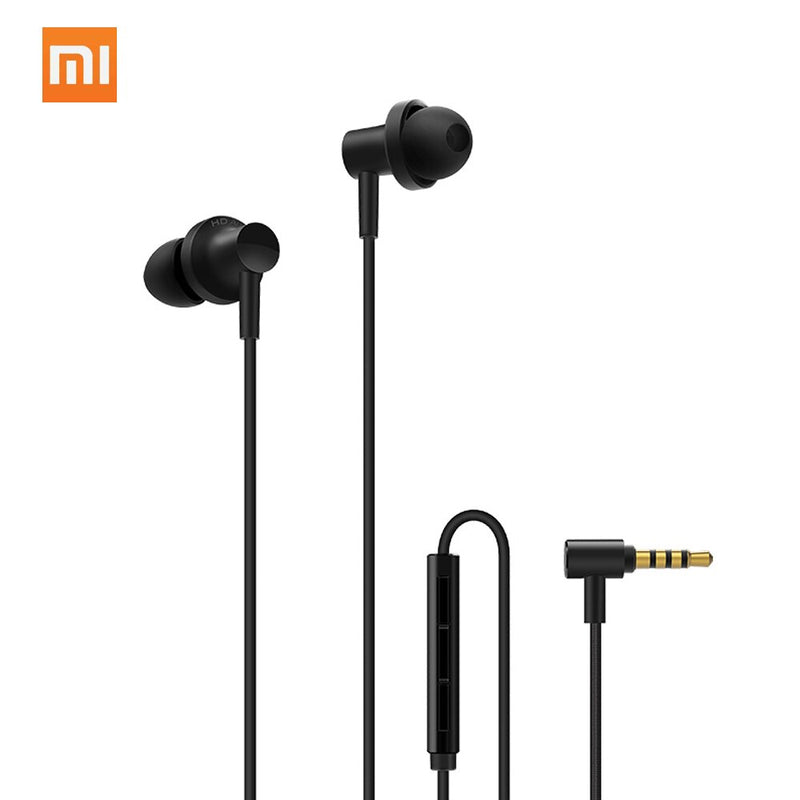 Xiaomi Qtej03jy Hybrid Dual Drivers Earphones Wired Voice Control